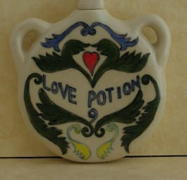 Apothecary Pendant - Love Potion